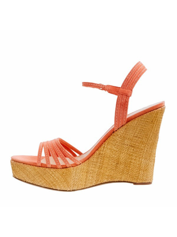 J.Crew Made in Italy Bette Platform Wedge Sandals