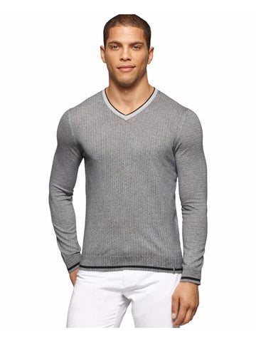 Calvin Klein Men's Lightweight Knit V Neck Pullover M NWOT