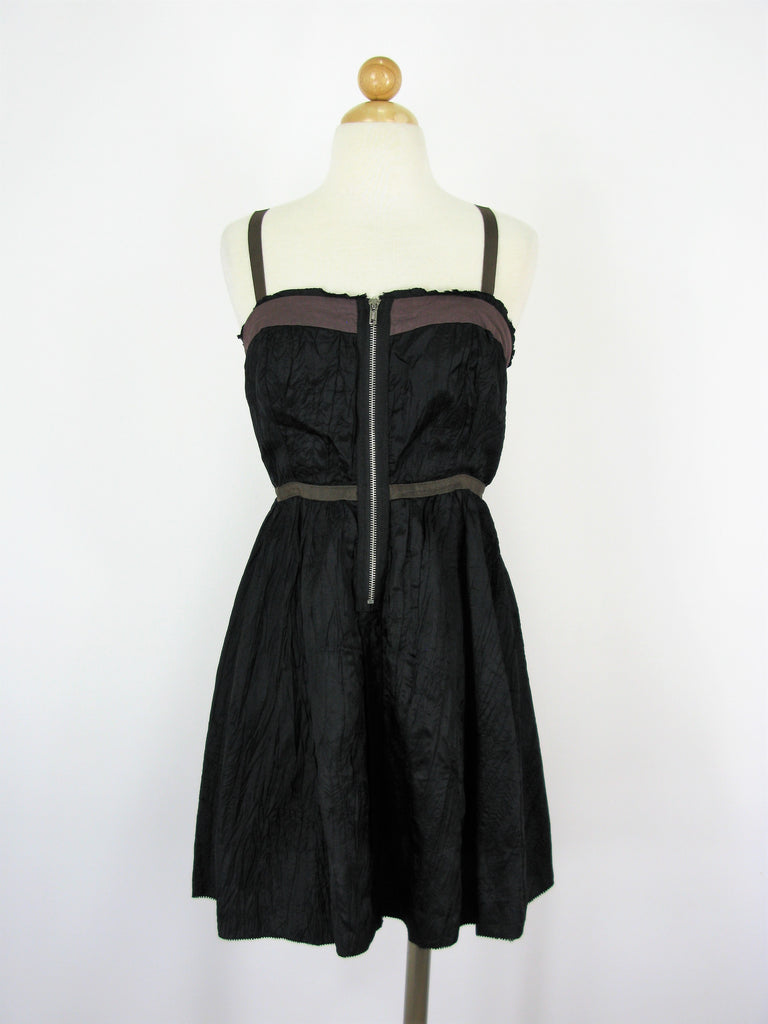 Free People Convertible Strap / Strapless 'Christine' Crinkle Dress 8