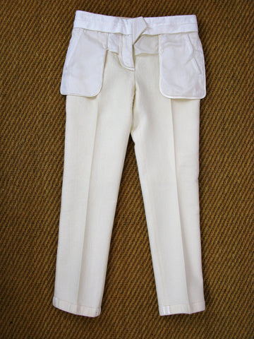 Givenchy Paris Wool Stretch Tuxedo Insideout Pants Fr 40 US 2/XS