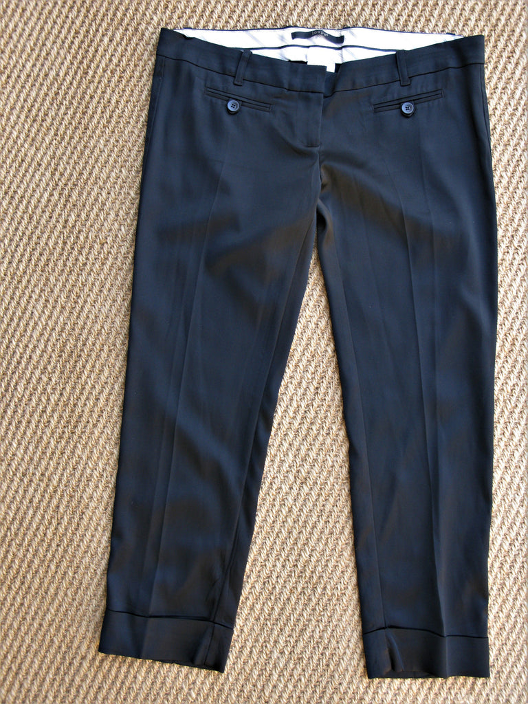 Loops By Robert In't Veld Capri Tuxedo Pants 8 M