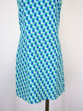 Gap 60's Mod Style Sleeveless Shift Dress 8