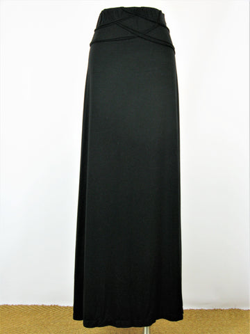 Max Studio Jersey Knit Maxi Skirt with Waist Detail XS