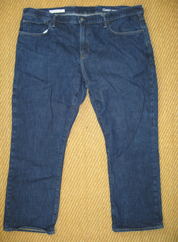 Gap 1969 Straight Leg Dark Wash Jeans 44x30