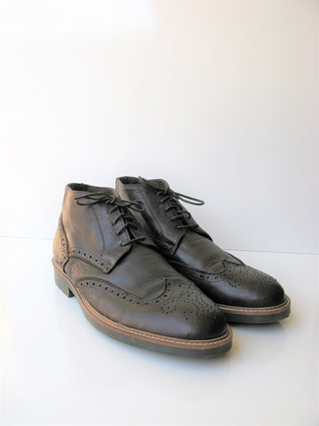 Balestrera Made in Italy Wingtip Brogue Chukka Boot It 44 US 11 Display Model