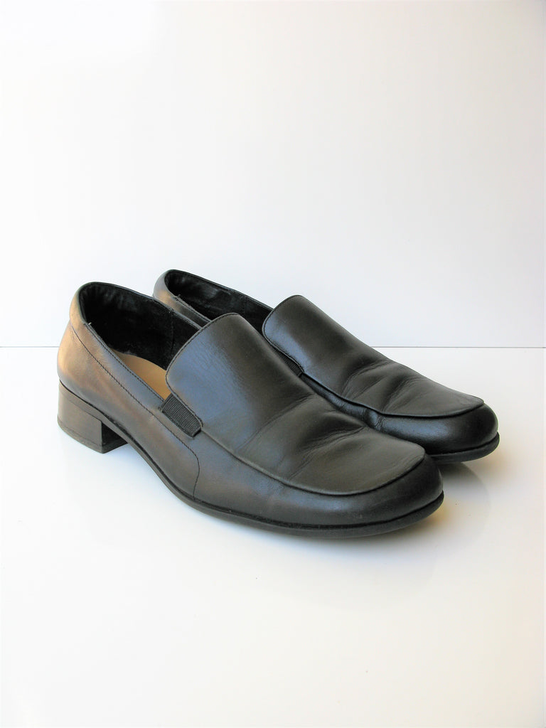 Villager Liz Claiborne Hilda Black Loafers 10