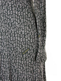 Atos Lombardini Signature Print Jersey Knit Dress 40/S