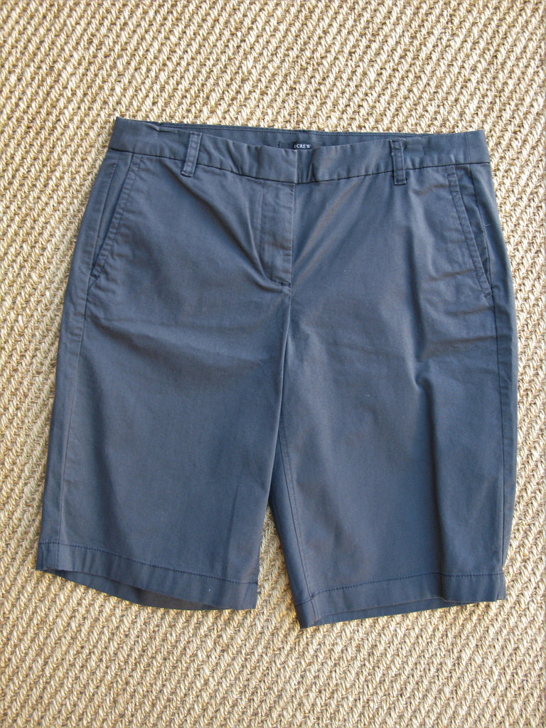 J Crew Grey Bermuda Shorts 2
