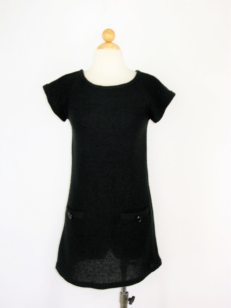 Piko 1988 Knit 60's Style Shift Dress M