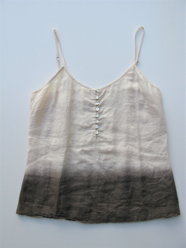 Banana Republic Heritage linen Ombre Camisole Top S/M