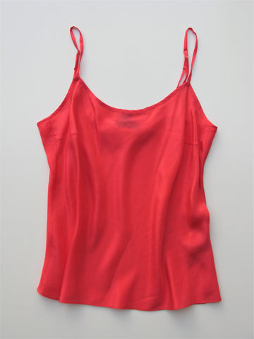 DKNY Salmon Pink Silk Camisole 4