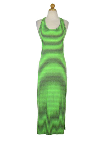 Cristina Love Striped Knit Racerback Maxi Dress M