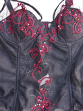 Jezebel Treasure Chest Bustier Corset 34B - ruby & sofia