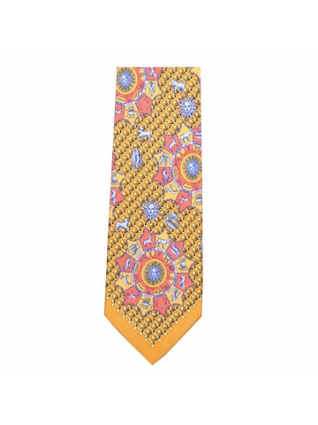 Andre Claude Canova - AC Canova Astrological Collection Silk Zodiac Tie