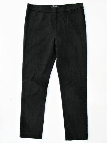 Isabel Marant Lindy Zipper Cuff Stretch Linen Ankle Pants 38 4/6 NWOT