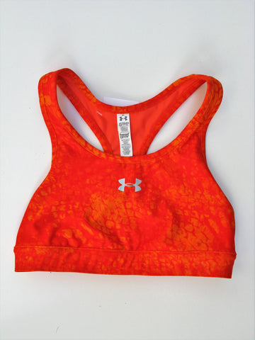 Under Armour Heat Gear Compression Tie Dye Sports Bra Top XS/TP NWOT