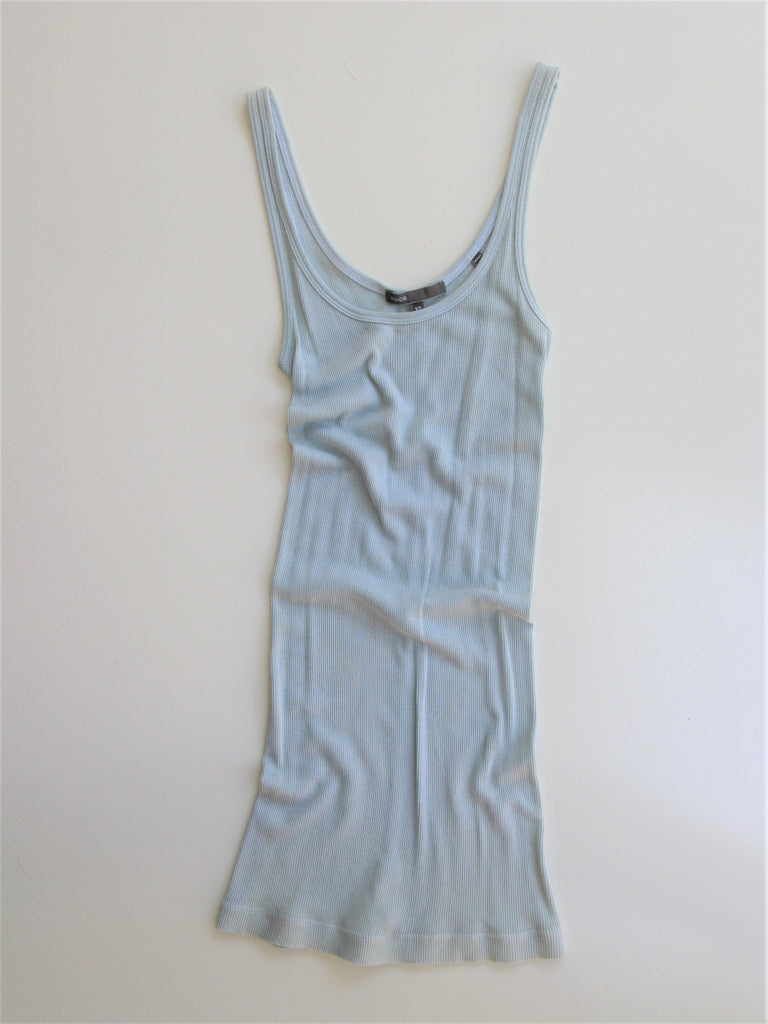 Vince 'Favorite' Ribbed Long Tank XS