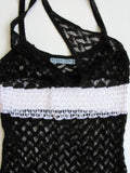Dolce Vita Couture Lace Crochet Tank Camisole Top S/M