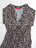 Love Notes Animal Print Top Size M