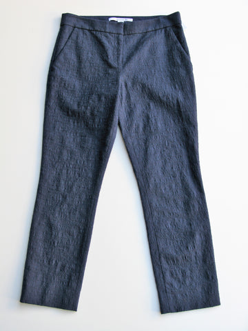 Diane von Furstenberg Gennifer Two Stretch Cotton Capri Pants 8