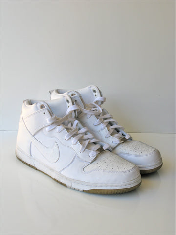 Nike Dunk CMFT Prm Qs White/White Basketball Shoe 14