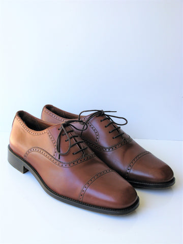 Italian Made Ingledew's Ultraflex Elite Cap Toe Lace-up Oxford 11.5