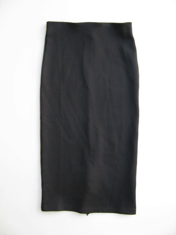 H&M Stretch Knit Zipper BodyCon Pencil Skirt 4/6 NWT