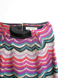 See by Chloe Metallic Multi Color Skirt 4