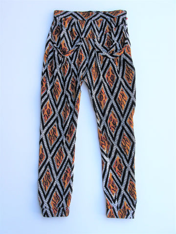 Flynn Skye Perfect Pants Abstract Printed Joggers 1 / XS