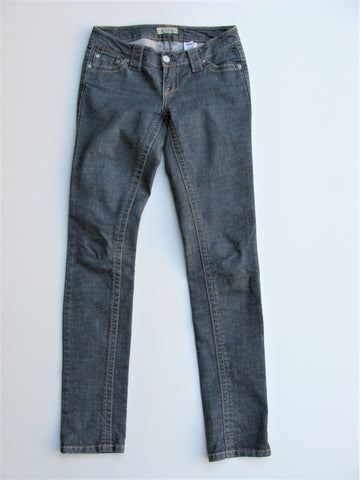 Paris Blues Chambray Low Rise Skinny Jeans 3