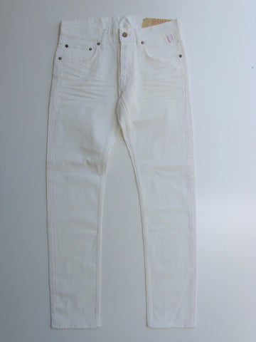 Genes Selvedge Virgin White Button Fly Skinny Jeans 31x31