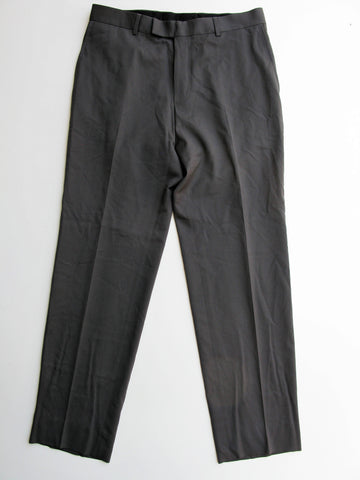 Boss Hugo Boss James Brown Wool Stretch Dress Trousers Pants 34R