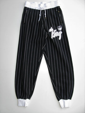 Joyrich The King Rich Striped Athletic Sweat Pants Joggers M NWOT