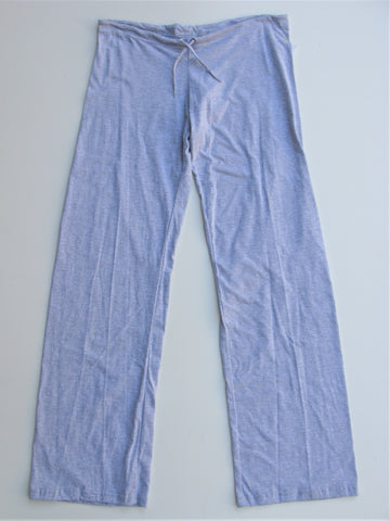 American Apparel Heather Grey Light Weight Drawstring Lounge Pants