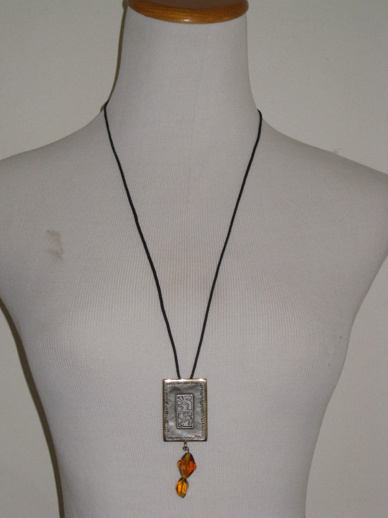 Express Tribal Pendant Necklace - ruby & sofia
