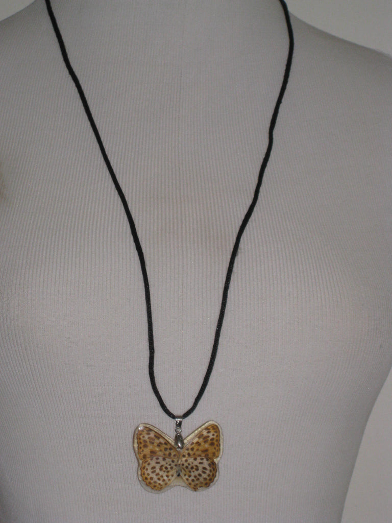 Butterfly Pendant Necklace - ruby & sofia
