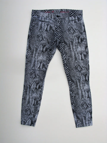 Khakis by Gap Super Skinny Snakeskin Print Ankle Pants 4
