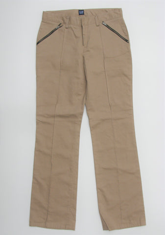 Gap Brushed Cotton Raised Seam Zipper Pocket Chino Pants 6