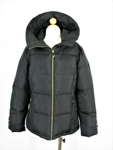 Calvin Klein Hooded Quilted Puffer Coat L NWOT