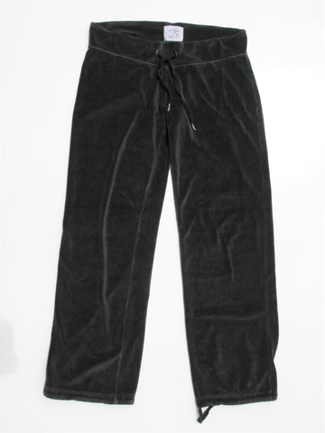 H&M L.O.G.G. Soft Grey Velour Lounge Sweatpants M