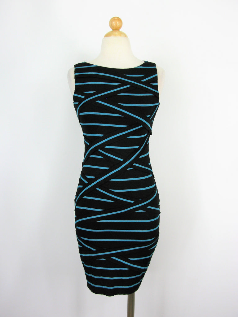 B44 Dressed Sleeveless Jersey Bandage Dress NWT S