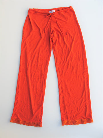 Fleur't Orange Lounge Sleep Pants S/M