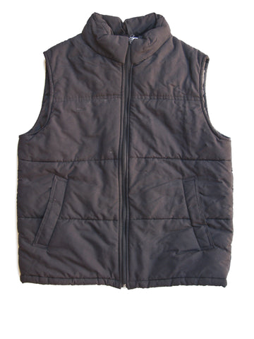Stitch Trend Black Quilted Vest M
