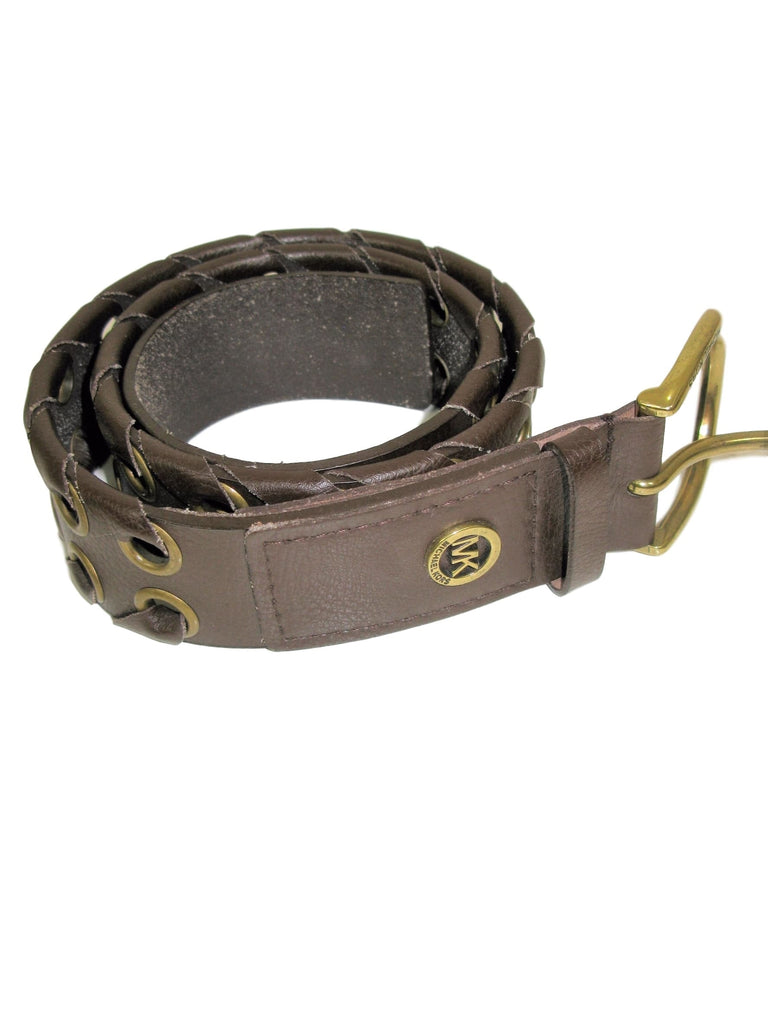 Michael Michaell Kors Grommet & Leather Belt S