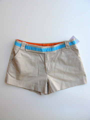 Tory Burch Chino Short Shorts 4 NWOT