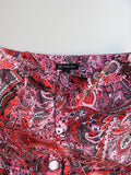 INC International Concepts Pink Printed Cuffed Shorts 10