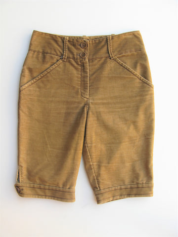 Max Studio Hi Waist Bermuda Walking Shorts 10