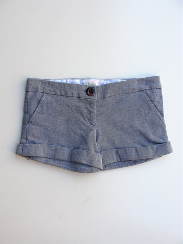 AQUA Micro Check Cuffed Shorts XXS / 00