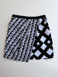 Peter Pilotto x Target Wrap-effect Printed Cloqué Skirt 4 NWOT