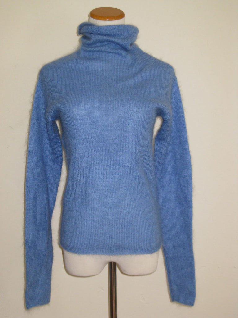 DKNY Mohair Blend Turtleneck Sweater M - ruby & sofia